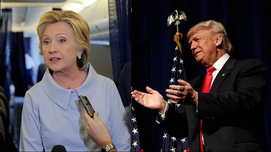 Clinton and Trump talk tough at commander-in-chief forum