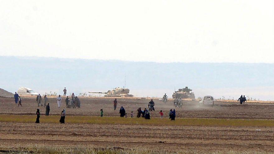 Menekültek tértek vissza Szíriába