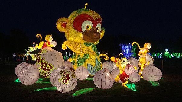 Kínai lampionfesztivál Bécsben