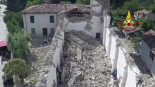 Drónokkal mérik fel a károkat Amatricében