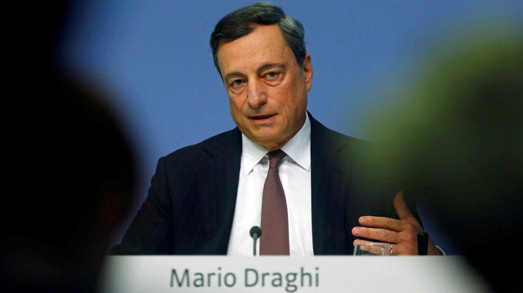 Avrupa Merkez Bankası faiz oranlarını değiştirmedi, Draghi Brexit'ten yakındı