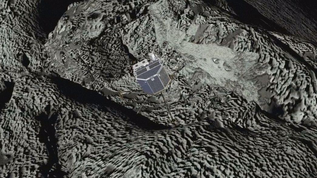 Elveszett, most megkerült: a Rosetta megtalálta a Philae-t