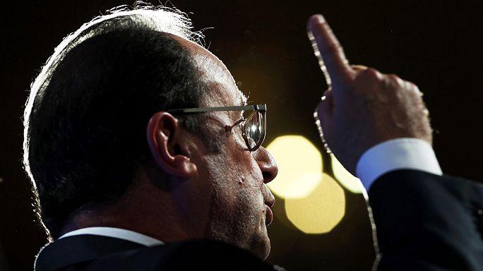 """Fransa: Hollande'un """"seçim kampanyasının"""" ana hatları"""