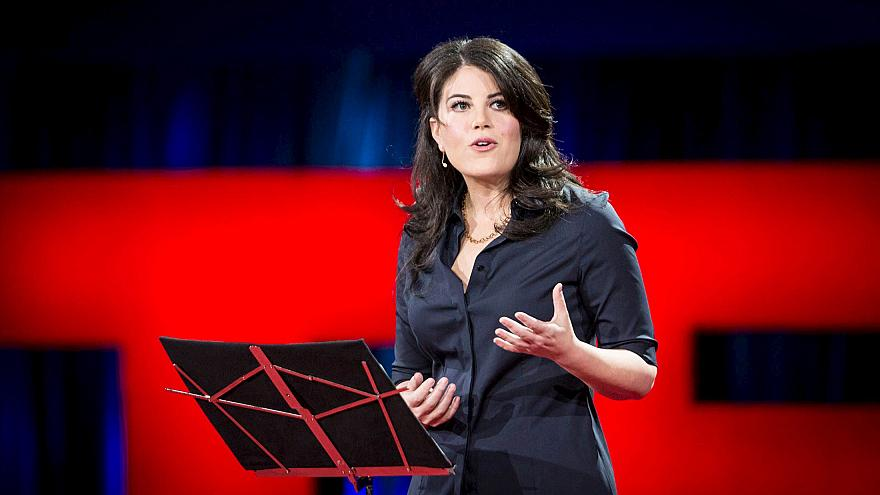 Image: Former White House intern Monica Lewinsky speaks at the TED2015 conf