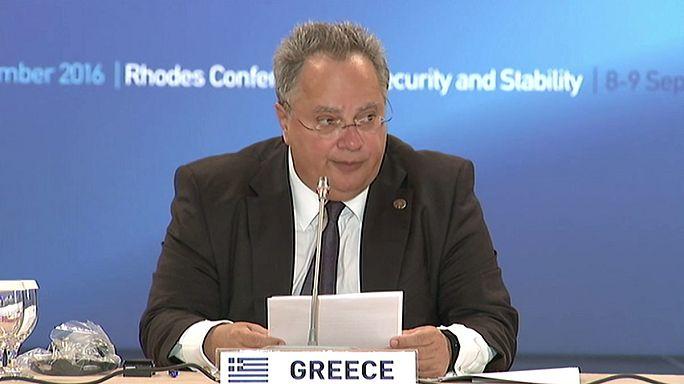 Yunanistan Güvenlik ve İstikrar Konferansı'na ev sahipliği yapıyor