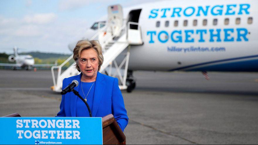 США: Клинтон пугает риторика Трампа