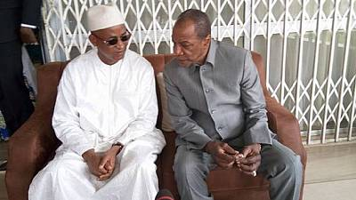 'Although there is politics, we are brothers' - Guinea president tells opposition leader
