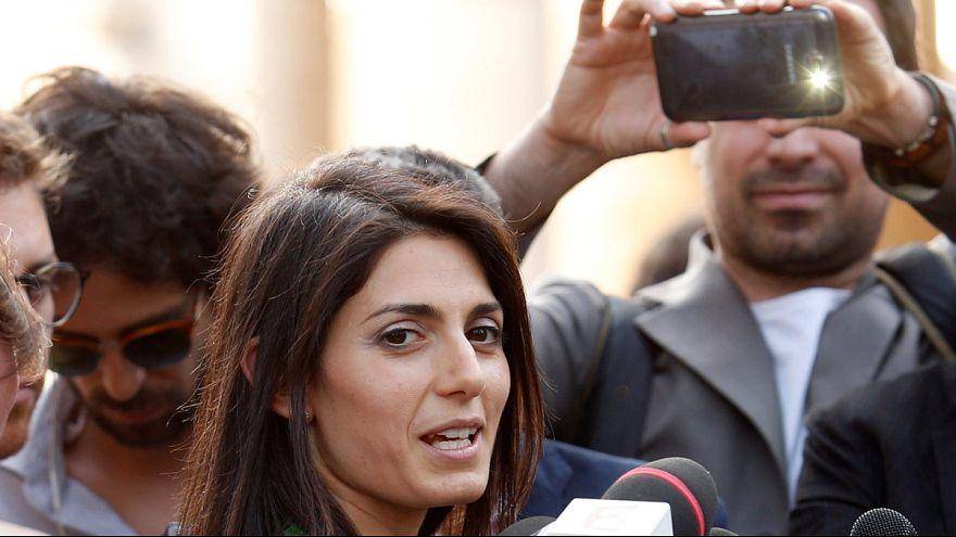 Chaos in Rom: schlechter Start für die neue Bürgermeisterin Virginia Raggi
