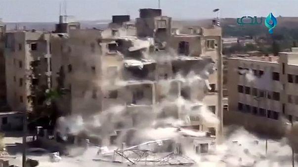 Nuevos combates en Siria mientras la diplomacia internacional busca una solución en Ginebra