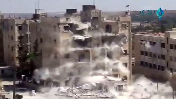 Сирия: в результате авиаудара под Алеппо убит лидер джихадистов