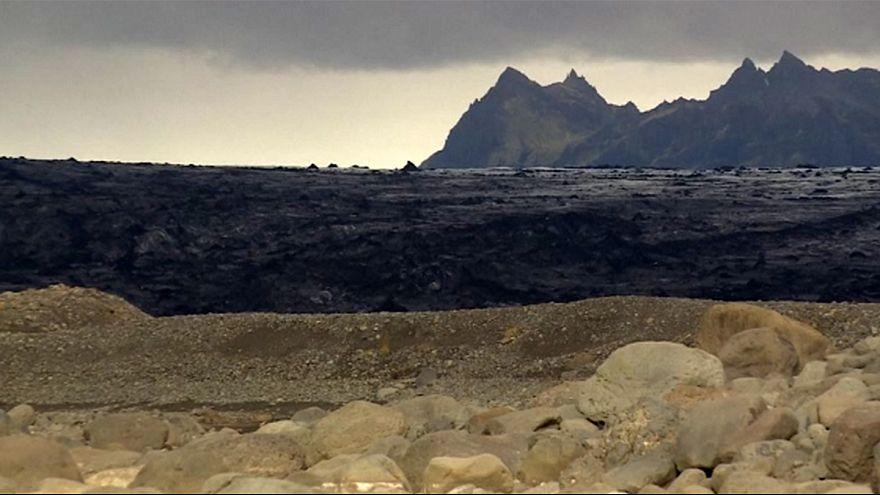 گرمایش زمین یک یخچال طبیعی در ایسلند را آب کرد