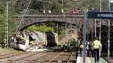 İspanya'da tren kazası: En az 4 ölü
