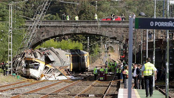 Incidente ferroviario in Spagna, vittime
