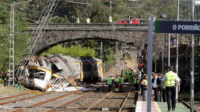 Испания: десятки пострадавших в результате железнодорожной аварии