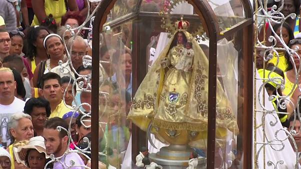 Cuba celebra Virgem da Caridade