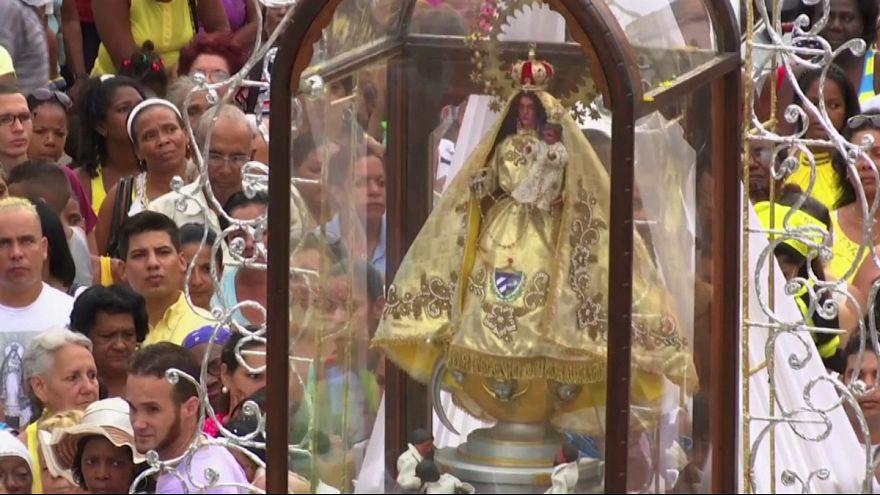 Fiestas patronales en Cuba