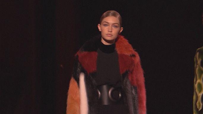 Осенью в Нью-Йорке показывают весеннюю моду