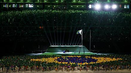 The opening ceremony of Rio Paralympic Games in 2 minutes