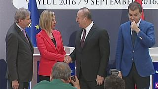 EU-Turkey should 'talk more to and less about each other' - Mogherini