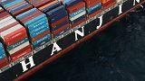 12.400 M€ de mercancías a la deriva en los puertos por la quiebra de Hanjin Shipping