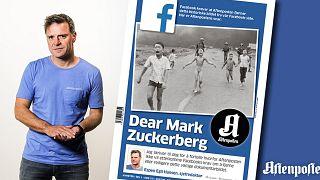 """Norwegische Zeitung """"Aftenposten"""" wirft Facebook Zensur vor"""