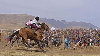 Lesotho's horse racing culture