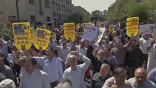 Iranians protest against Saudi rulers as Hajj gets underway