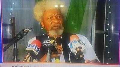 Wole Soyinka backs defiant Chibok activists to continue protests, chides police