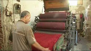 Egypte : l'usine de Saeed el-Khalaan et sa production de laine