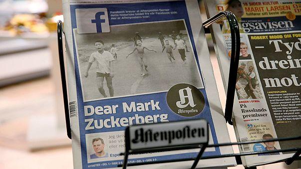 رئيسة وزراء النرويج تتهم فيسبوك بإعادة كتابة التاريخ