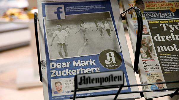 "Facebook ""censura"" emblematica foto da guerra do Vietnam"