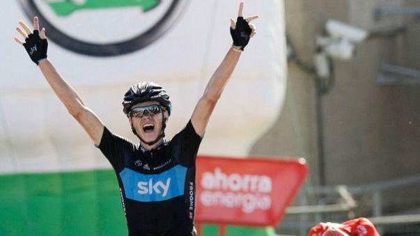 Ciclismo, Vuelta: Froome vola nella crono, Quintana resta leader