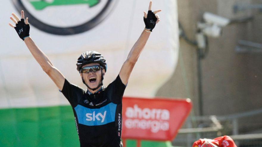 طواف إسبانيا: كريس فروم يفوز بالمرحلة ما قبل الأخيرة و يقترب من كينتانا