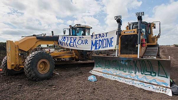 Kızılderililer bastırdı petrol boru hattı projesi iptal edildi