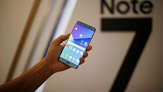 Samsung appelle à ne plus utiliser son smartphone Galaxy Note 7