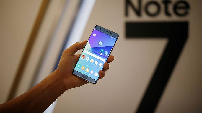 "EUA: ""Power off"" para o Samsung Note 7"
