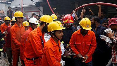 Bangladesh : 15 morts et 70 blessés dans un incendie (bilan provisoire)