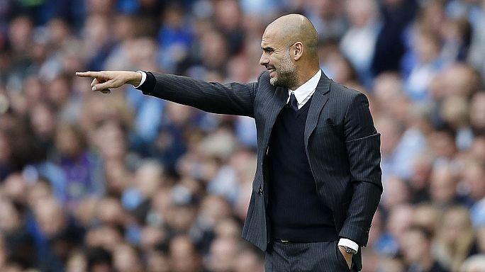 Calcio: Guardiola batte Mourinho, al City il derby di Manchester