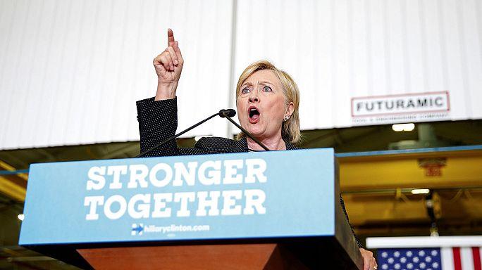Durvul a kampány, Trump már Clinton nyakán liheg