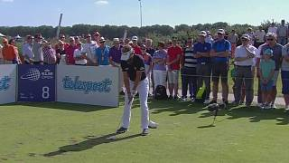 Scott Hend in the driving seat at the Dutch Open