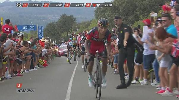 Nairo Quintana saborea la gloria en la Vuelta a España