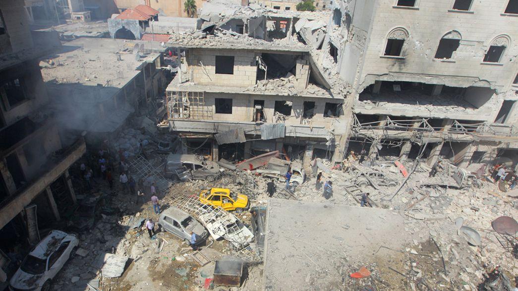 Suriye ateşkes öncesi kana bulandı