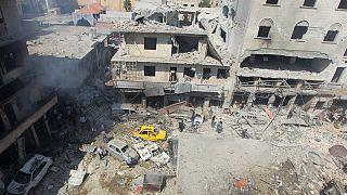 Σύρια: Νέοι βομβαρδισμοί πριν την έναρξη της εκεχειρίας