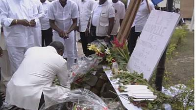 Gabon : l'opposition rend hommage aux victimes de la crise post-électorale