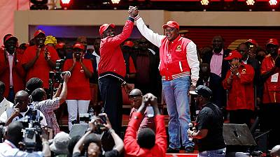 Kenya's ruling coalition launches new party