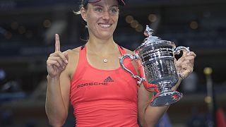 Angelique Kerber gana el Abierto de Estados Unidos
