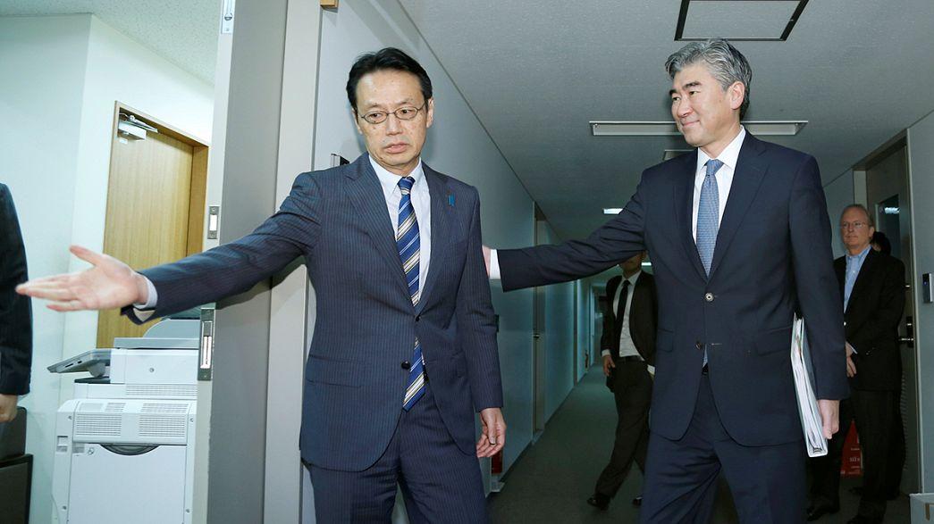 Вашингтон, Токио и Сеул готовы вместе работать над санкциями против КНДР