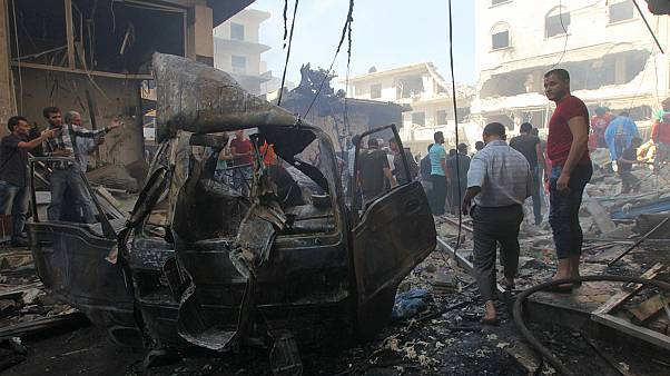 Fierce fighting and air strikes continue in Syria
