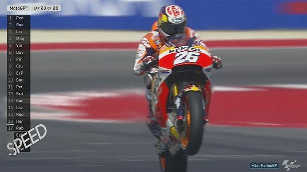 Dani Pedrosa sorprende en el Gran Premio de San Marino