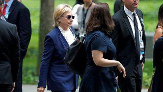 Tüdőgyulladása okozta Hillary Clinton rosszullétét